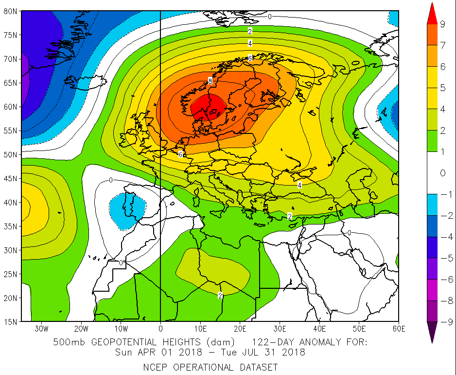 500hPa Geopot. Anomaly